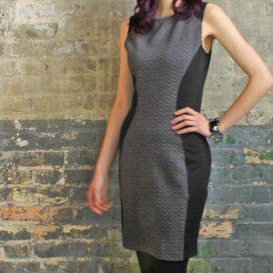 NWT Size S Pink Martini Grey & Black Bodycon Dress